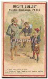 Chromo Biscuits Guillot Rue Rambuteau Paris Hunter Hunt Child