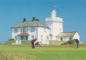 Cromer Golf Course Norfolk 1980s Postcard