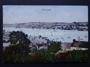 Cornwall FALMOUTH Panoramic View c1904  Old Postcard