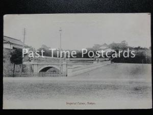 c1902 - Imperial Palace, Tokyo - Undivided Back