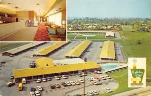 Bridgeton MO~St Louis Holiday Inn Motel~North~By-Pass Route 66~Inside Out~1961