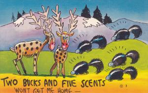 Two Bucks and Five Scents Won't Get Me Home, Skunks, 30-40s