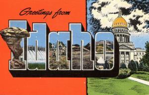 Large Letter - Idaho