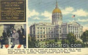 State Capitol Atlanta GA Unused