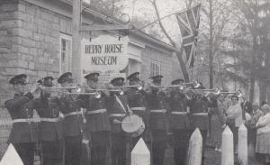 OSHAWA, Ontario, Canada, 1960; Coronation Trumpeters, Henry House Museum Opening