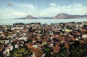 greece, PATRAS PATRA, Partial View (1910s)