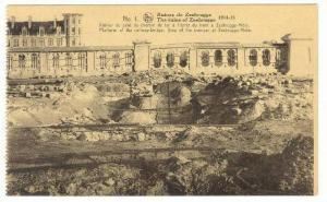 Zeebrugge , Belgium, 1918  Ruines de Zeebrugge, Platform of the rail-way bridge