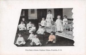 Franklin NH First Baby Room @ Orphanage~Daniel Webster House c1910 (Closed 1959)