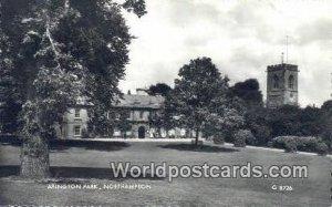 Abington Park Northampton UK, England, Great Britain Unused