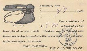 CINCINNATI , Ohio, 1905 ; The Ohio Truss Company