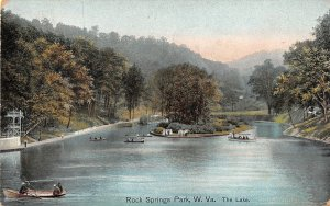 H77/ Chester West Virginia Postcard c1910 Rock Springs Amusement Park 214