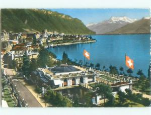 old rppc NICE VIEW Montreux - Lake Geneva Switzerland i3266