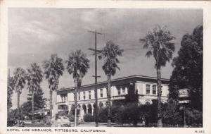 PITTSBURG , California, 1930-50s : Hotel Los Medanos