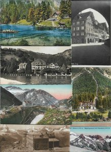 Switzerland Blausee Furkapass Gornergrat and more Postcard Lot of 20 01.12