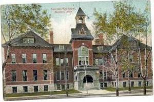 East Side High School, Saginaw, Michigan, 1909