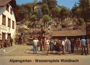 Alpengarten Wasserspiele Reiseandenken Waldbach