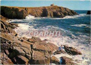 Postcard Modern Brittany Quiberon peninsula's tip Percho