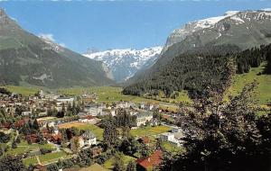 Switzerland Engelberg mit Spannorter und Titlis Panorama Mountain