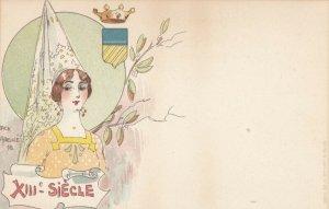 Jacques dit Jack ABEILLÉ : Art Nouveau Female Head Portrait , 1898 #1/6