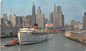 S.S. North American, Georgian Bay Line Chicago River, near Lake Michigan, Ship