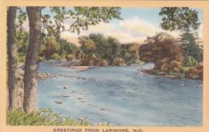 North Dakota Greetings From Larimore