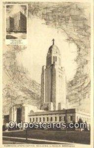 Lincoln, Nebraska, NE State Capital USA Unused