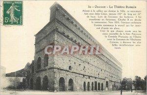 Old Postcard ORANGE THEATER ROMAIN