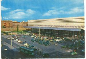 Italy, Rome, Roma, Stazione Termini, Termini Station, 1960s unused Postcard