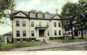 Home for the Aged Persons Malden MA Unused