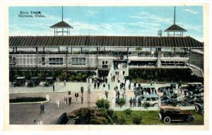 21750  Cuba Havana  Race Track Entrance, Valet Parking