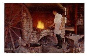 VA - Williamsburg. Deane Forge, Blacksmith