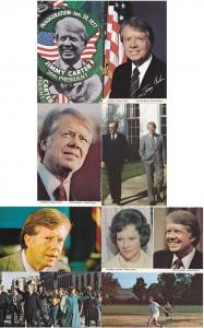(8 cards) President Jimmy Carter - 39th President of the U.S.