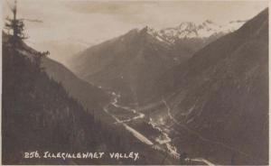 Illegillewaet Canada Canadian Mountains Antique Real Photo Postcard