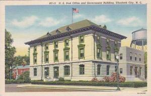 North Carolina Elizabeth City 1945 Curteich