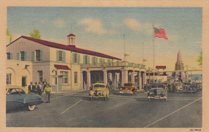 TIJUANA , B.C. , Mexico , 1930-40s ; American Custom House