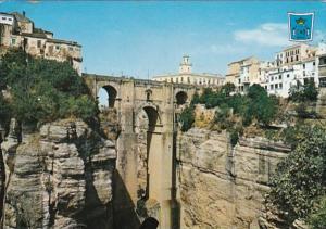 Spain Ronda New Bridge Tajo