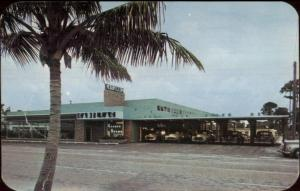 Connor Brown Cadillac Car Auto Dealership Fort Lauderdale FL 1950s Postcard