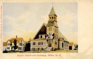 NH - Milton. Baptist Church and Parsonage