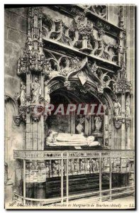 Postcard Ancient Church Of Brou Maurolee of Margaret of Bourbon