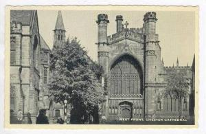 Chester (Cheshire), England, UK, PU-1959, Water Front, Chester Cathedral