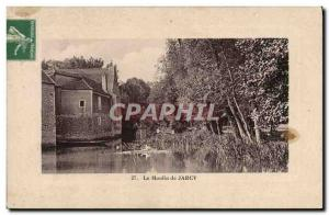 Postcard Old water mill The mill Jarcy