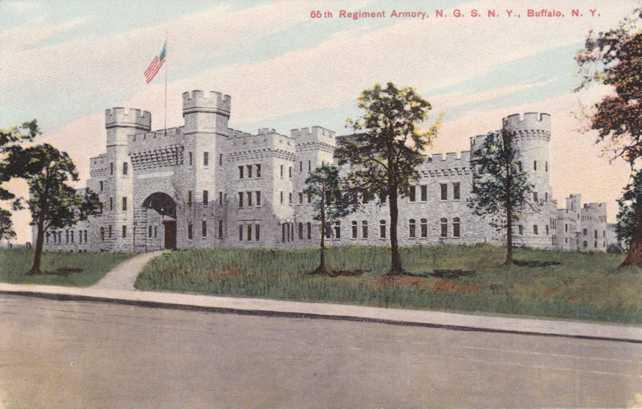 65th Regiment Armory - National Guard of New York - Buffalo NY, New York - DB