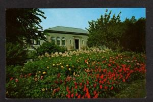 MA Memorial Library FALMOUTH CAPE COD MASS Postcard PC Massachusetts