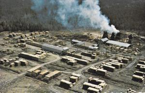Aerial View, Les Materiaux Blanchet Inc., CTE. L'ISLET, Quebec, Canada, PU-1966
