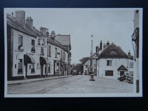Devon CHAGFORD The Square Shows RING O BELLS HOTEL - Old Postcard by Frith