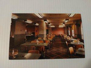Vintage Postcard Veteran Administration Hospital Cafeteria West Haven Conn  428