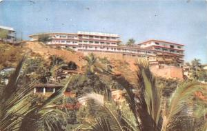 Mexico Old Vintage Antique Post Card Hotel Del Monte Acapulco 1958
