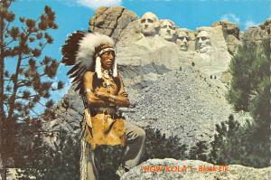 How Kola, Black Elk - Mt Rushmore, South Dakota