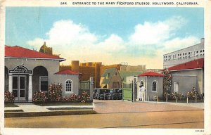 Entrance to the Mary Pickford Studios Hollywood, CA, USA Theater 1926