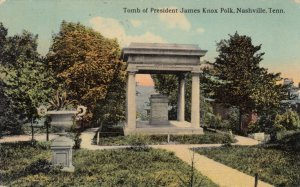 NASHVILLE , Tennessee, 1914 ; Tomb of President Polk